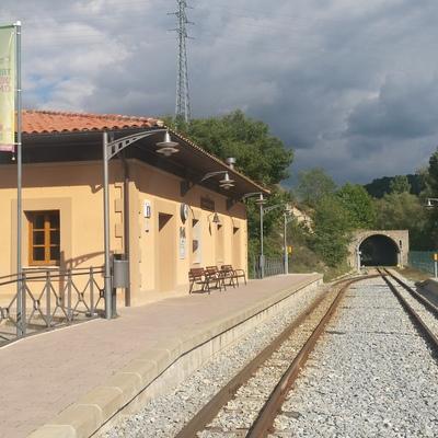 Oficina de Turisme de la Pobla de Lillet.