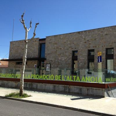 Oficina de Turisme de l'Alta Anoia.