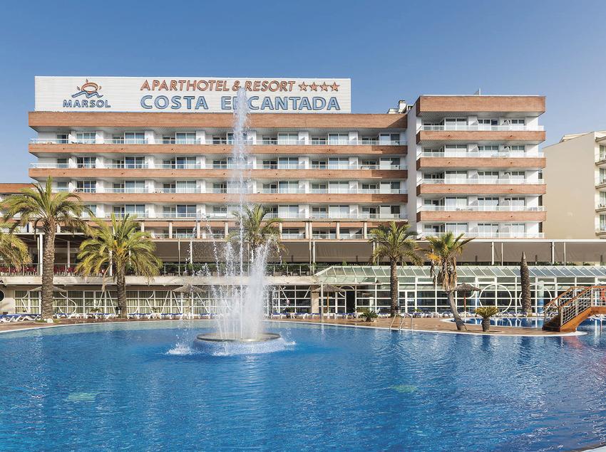 Hotel Costa Encantada, la font.