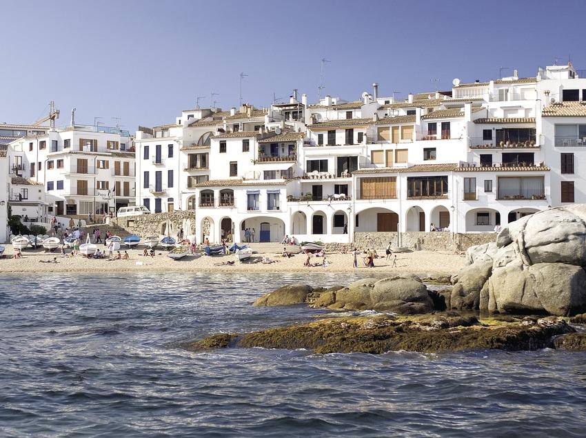 Playa de Calella.  (Miguel Angel Alvarez)