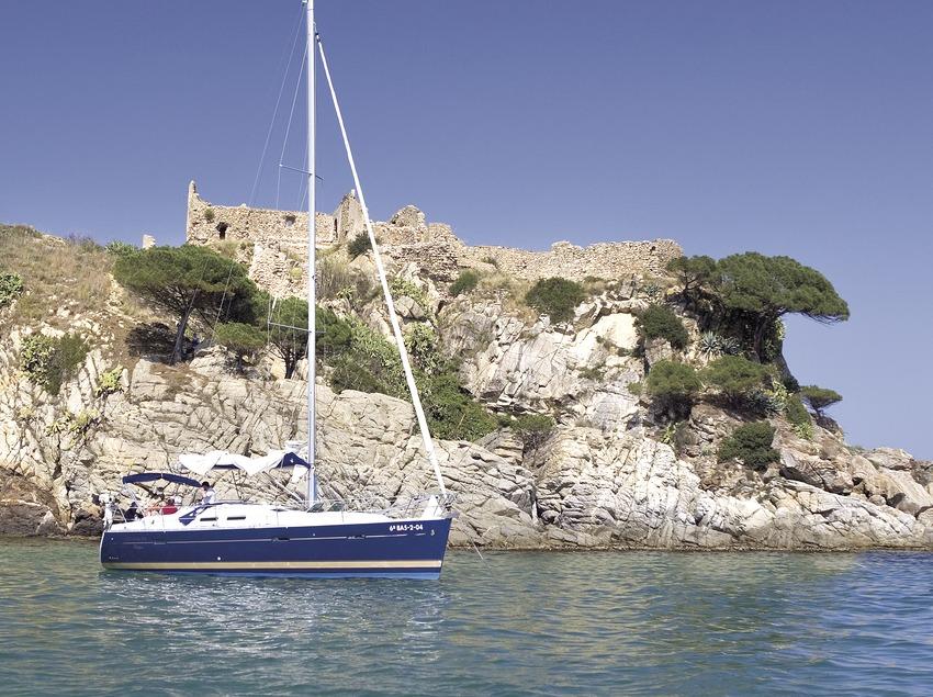 Embarcació prop Palamós  (Miguel Angel Alvarez)