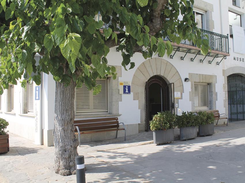 Oficina de Turisme de Sant Pol de Mar.