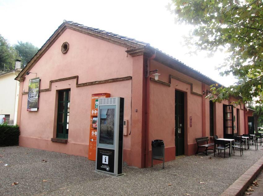Oficina de Turisme de Sant Feliu de Pallerols.