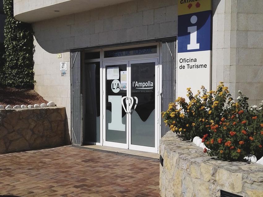 Oficina de Turisme de l'Ampolla.