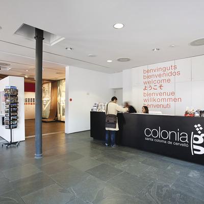 Oficina de Turisme de la Colònia Güell.