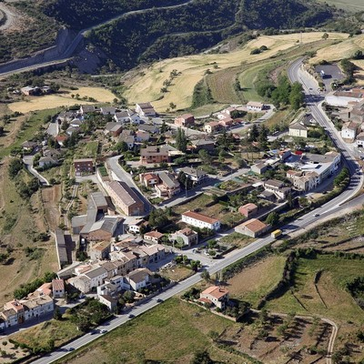 Vista aérea de Calders (Ajuntament de Calders)