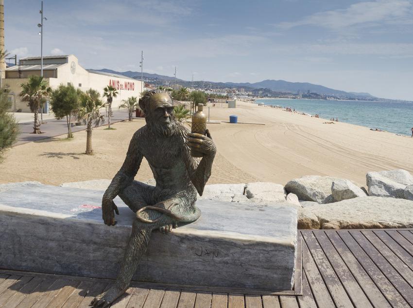 Platja de Badalona (Albert Miró - Diputació de Barcelona)
