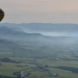 Vol en globus des de Manresa