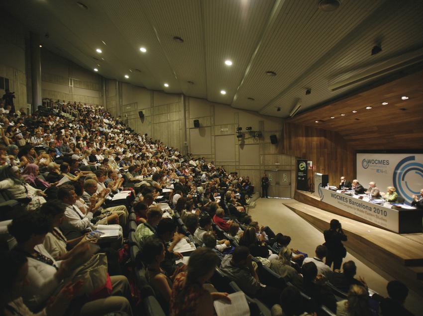 Auditorio de la Facultad de Filosofía y Letras. (UAB Campus)