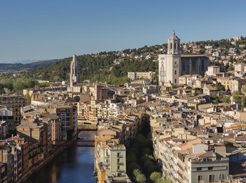 Vista aérea de Girona.