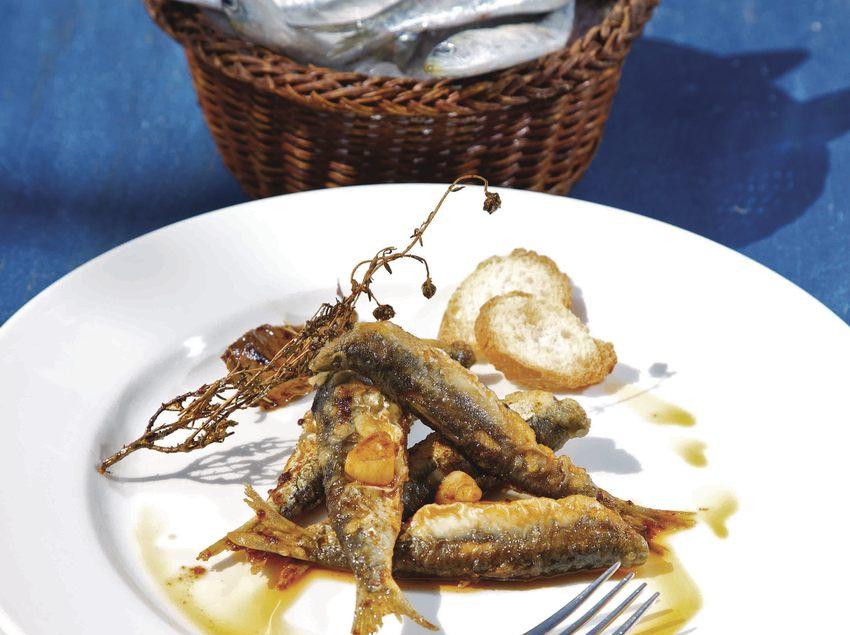 Pescado azul en el restaurante Marabú de Sant Feliu de Guíxols (Ajuntament de Sant Feliu de Guíxols)