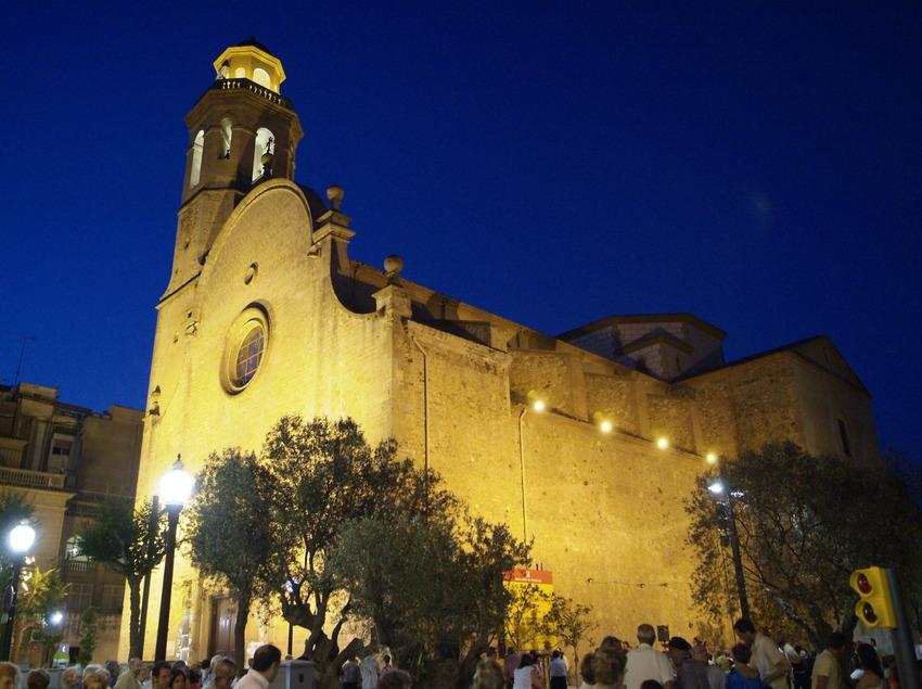 Església Santa Maria i Sant Nicolau. s. XVIII. Calella (Ajuntament de Calella)