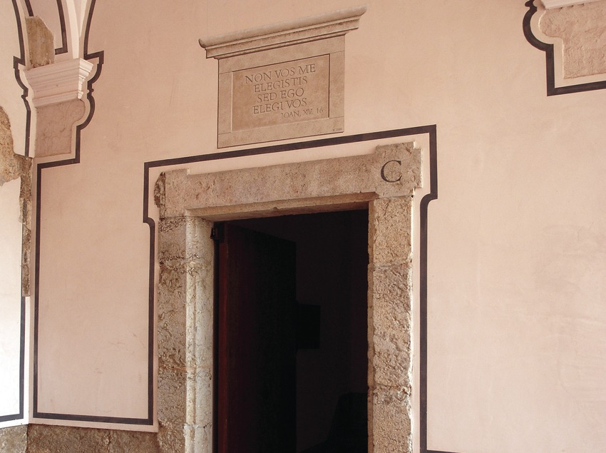 Cel·la restaurada, Cartoixa d'Scala Dei  (Tina Bagué)