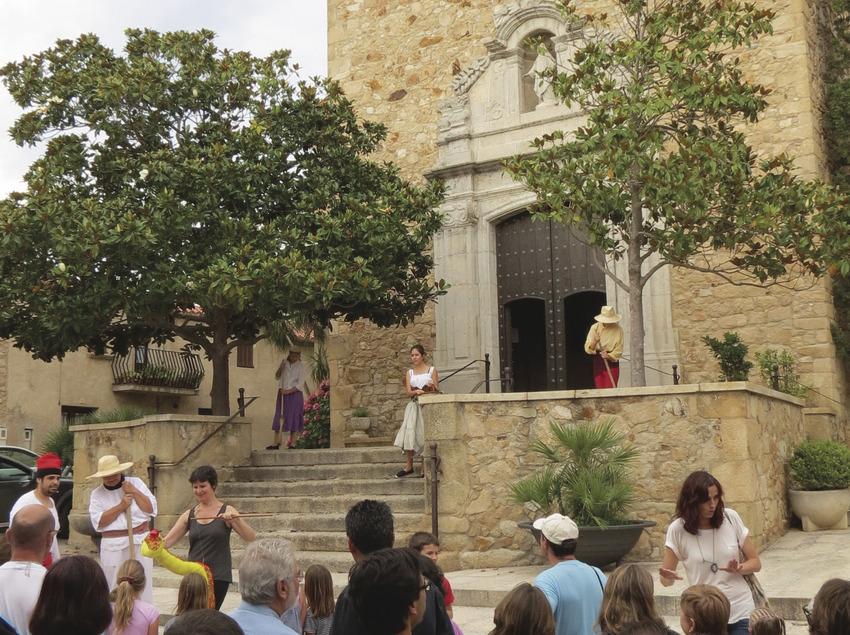 Vistes guiades i teatralitzades al castell de Balsareny, a Platja d'Aro (Ajuntament de Castell-Platja d'Aro)