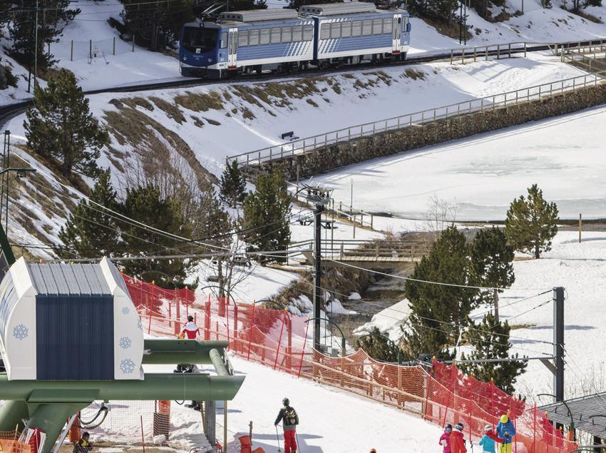 Estació d'Esquí de la Vall de Núria