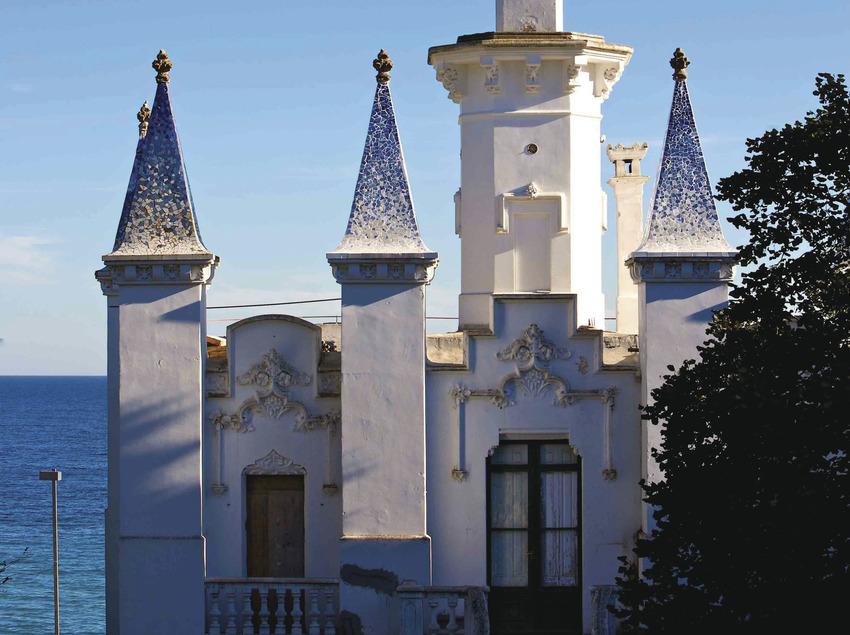 St. Feliu de Guíxols, cases modernistes de St. Pol, casa Les Punxes. . (Ajuntament de Sant Feliu de Guíxols)