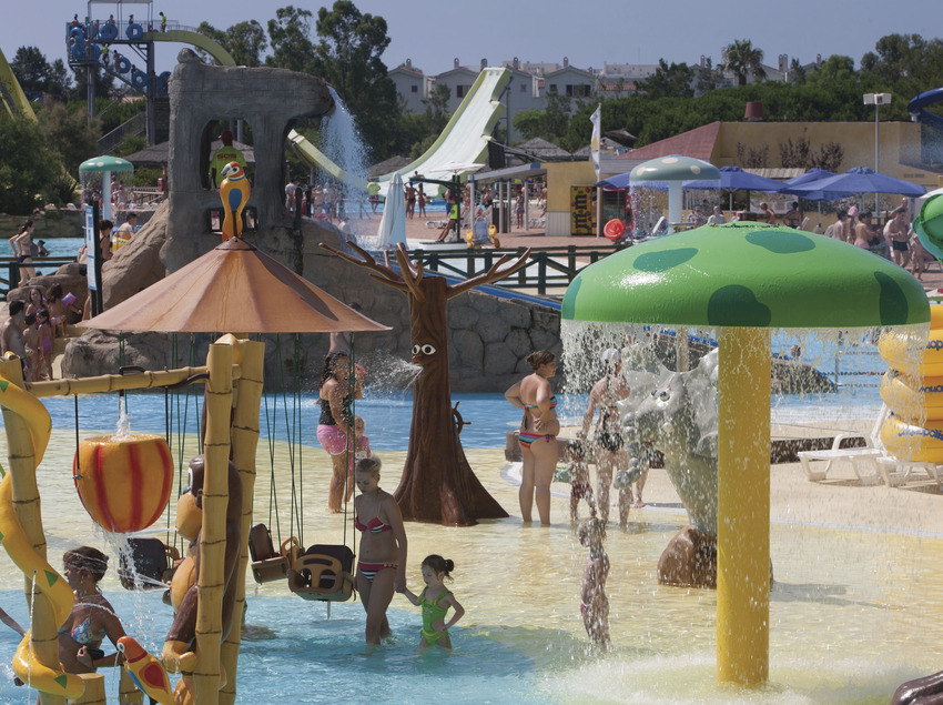 Parc aquàtic Aquopolis situat a la pineda de Vila-seca (Ajuntament de Vila-seca)