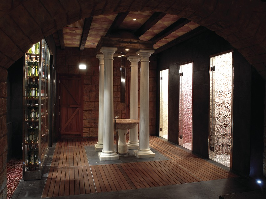 Spa in the Peralada Golf Wine Spa Hotel