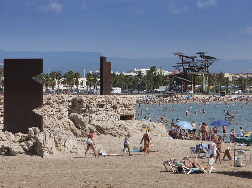 Playa la Pineda de la ciudad de Vila-seca (Ajuntament de Vila-seca)