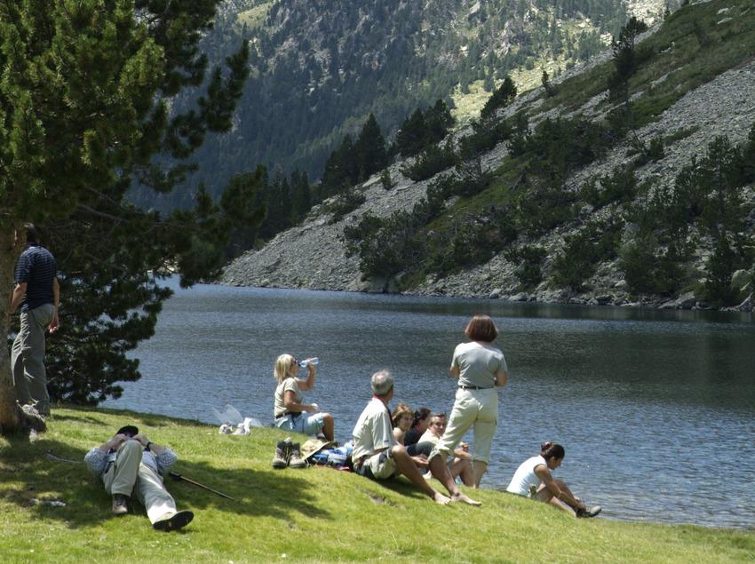 Aigüestortes, Pallars Sobirà, pantano, Parque Nacional, Pirineus, Catalunya (Francesc Tur)