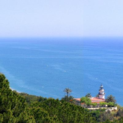 Vistes del mar i del Far de Calella (Ajuntament de Calella)