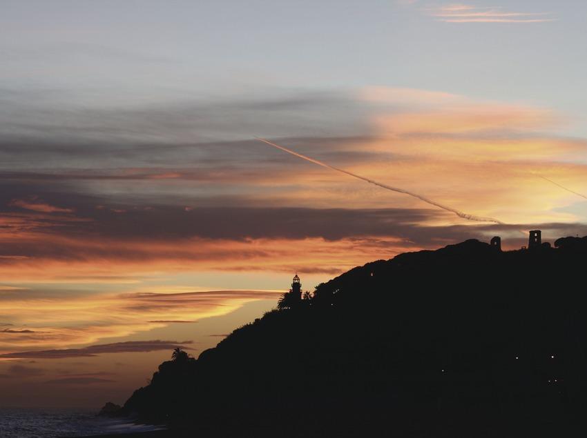 Posta de sol a Calella (Ajuntament de Calella)