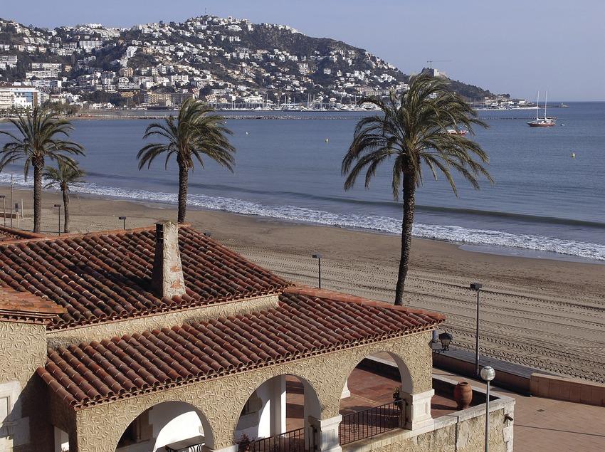 Golfplatz in Roses, vom Hotel Terraza aus gesehen.  (Tina Bagué)