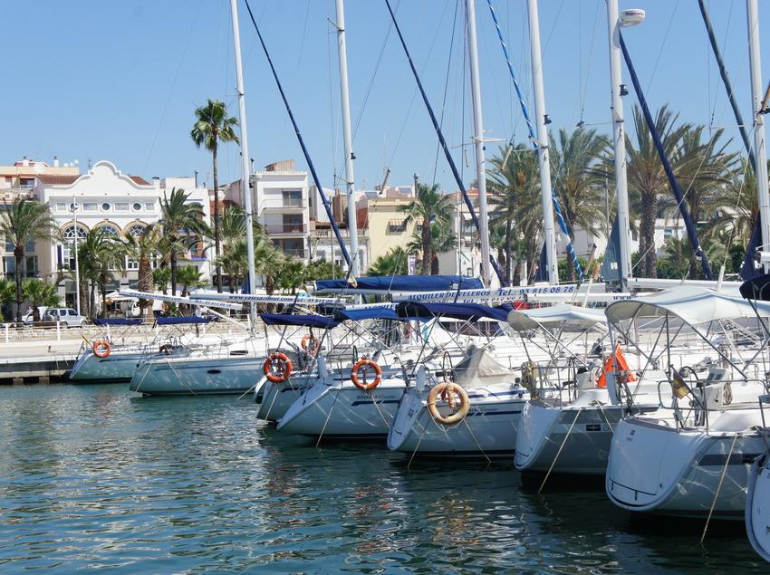 Barcos en el puerto de Vilanova i la Geltrú (Ajuntament de Vilanova i la Geltrú)