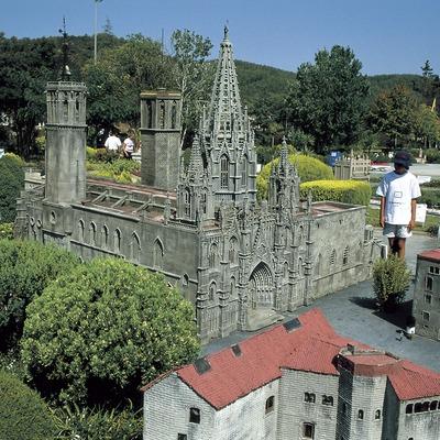 Catedral de Barcelona a Catalunya en miniatura.  (Turismo Verde S.L.)
