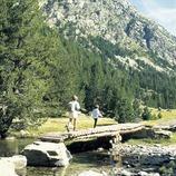 Confluencia de Sant Nicolau en el Parque Nacional de Aigüestortes i Estany de Sant Maurici. (© Turismo Verde S.L.)