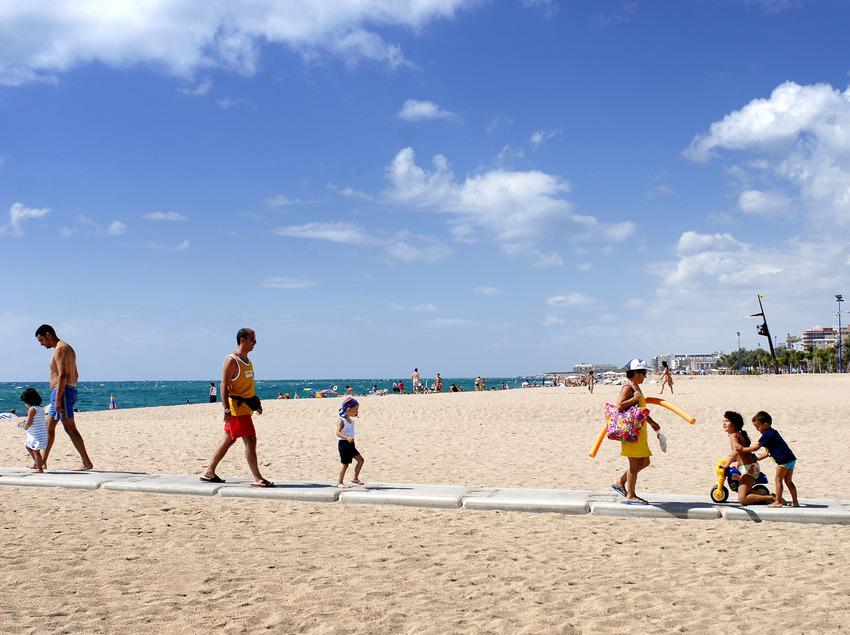 Playa de Malgrat de Mar (Ajuntament de Malgrat de Mar)
