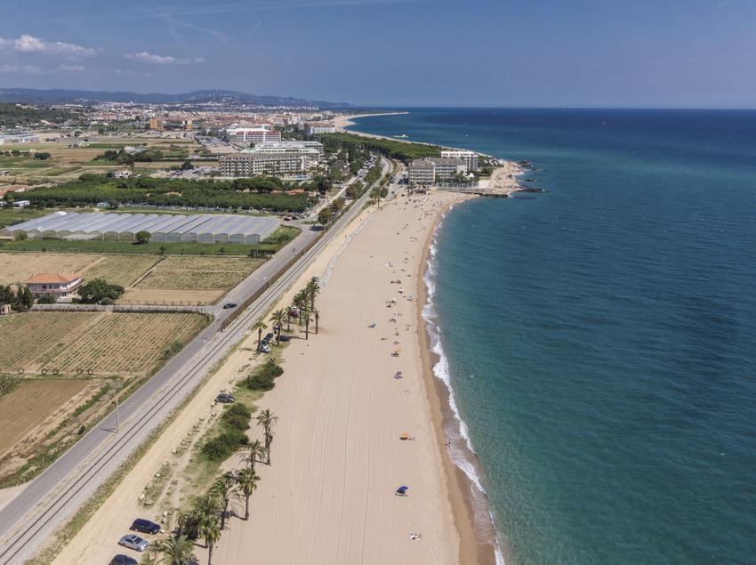 Playa de Santa Susanna (Ajuntament de Santa Susanna)