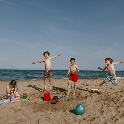 Un día en familia en Sant Pere Pescador