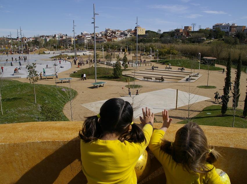 Vistas al parque Francesc Macia de Malgrat de Mar (Ajuntament de Malgrat de Mar)