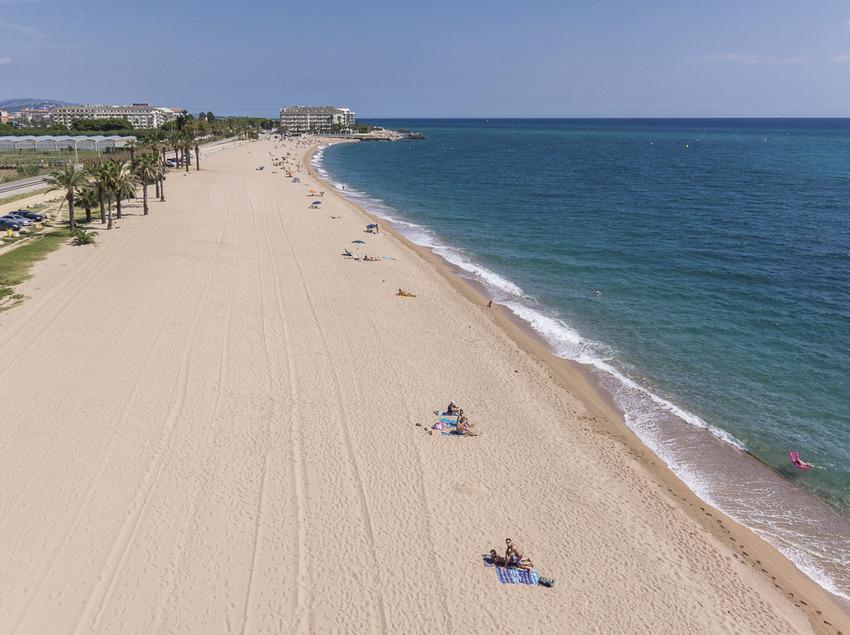 Vistes de la platja de Santa Susanna (Ajuntament de Santa Susanna)