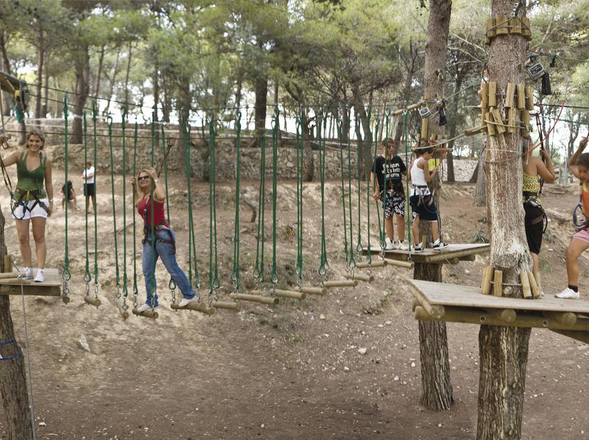 Nens al Diver Parc Lúdic del municipi del Vendrell (Joan Capdevilla)