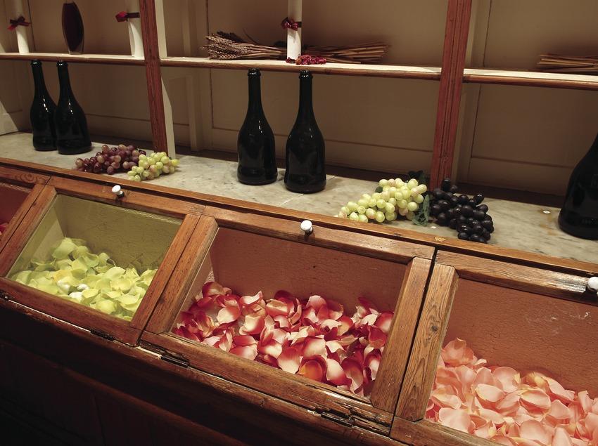 Spa del hotel Golf Wine Spa Peralada.  (Tina Bagué)