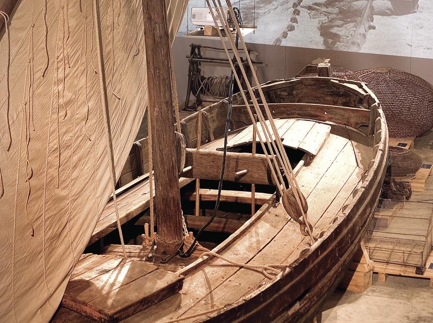 Embarcación del Museo de la Pesca  (Miguel Angel Alvarez)