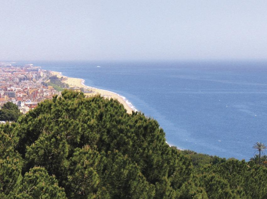 Vistes des de l'aire de la ciutat de Calella (Ajuntament de Calella)