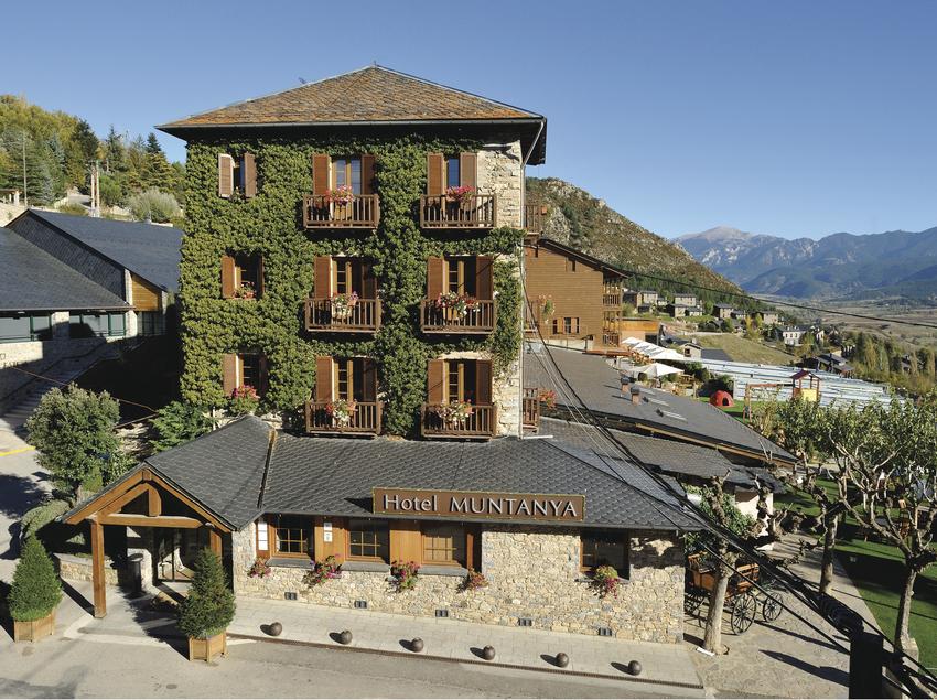 Fachada del hotel Monte & Spa. (Hotel Muntanya&Spa Prullans)