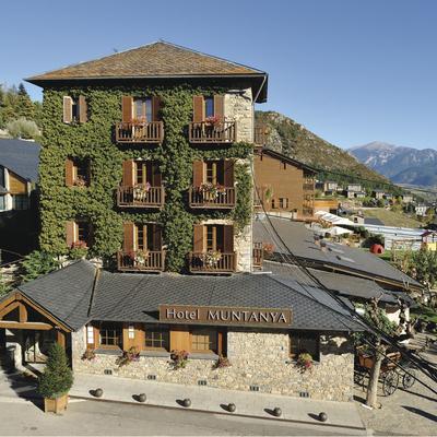Façana de l'hotel Muntanya & Spa. (Hotel Muntanya&Spa Prullans)
