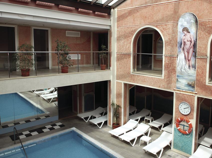 Instal.lacions termals de l'hotel Termes de Montbrió.  (Tina Bagué)