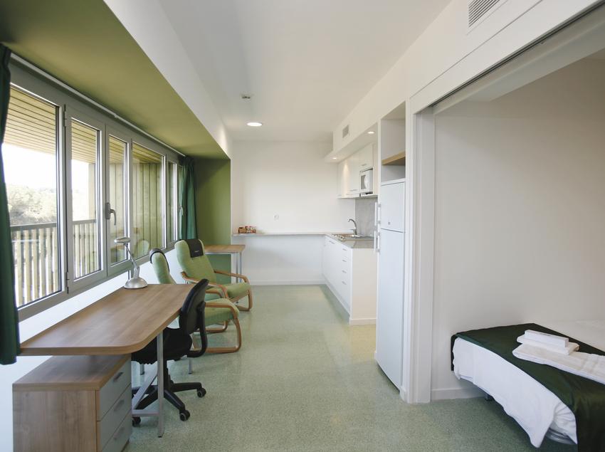 Interior de un apartamento. (UAB Campus)