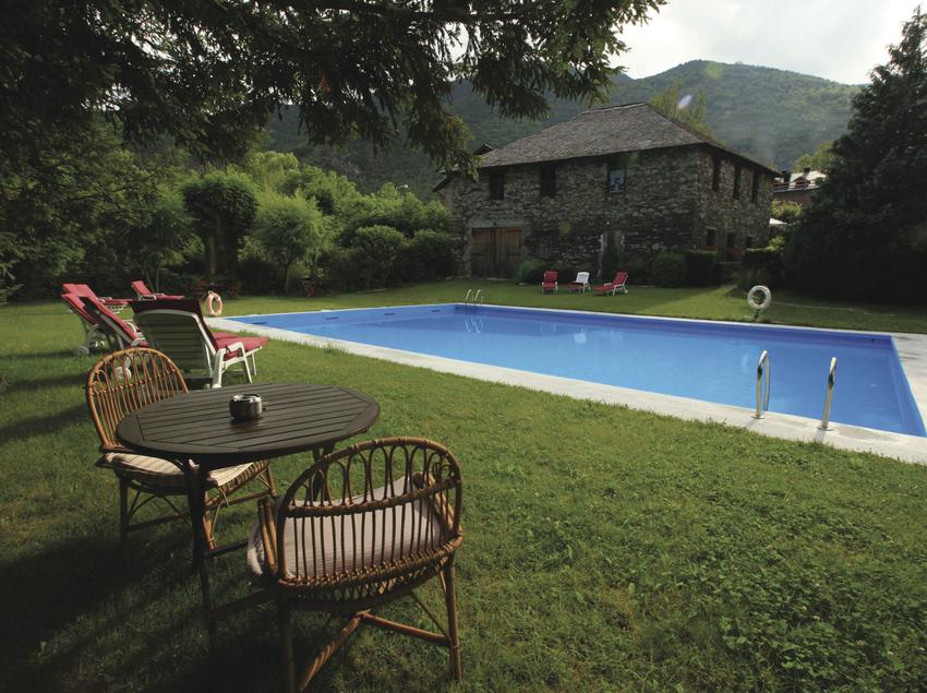 Casa rural amb piscina. (Gourmet Hotels / Sender Hotels)