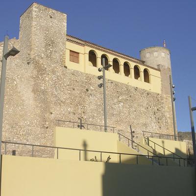 Façana del castell d'Os de Balaguer. (Tu i Lleida)