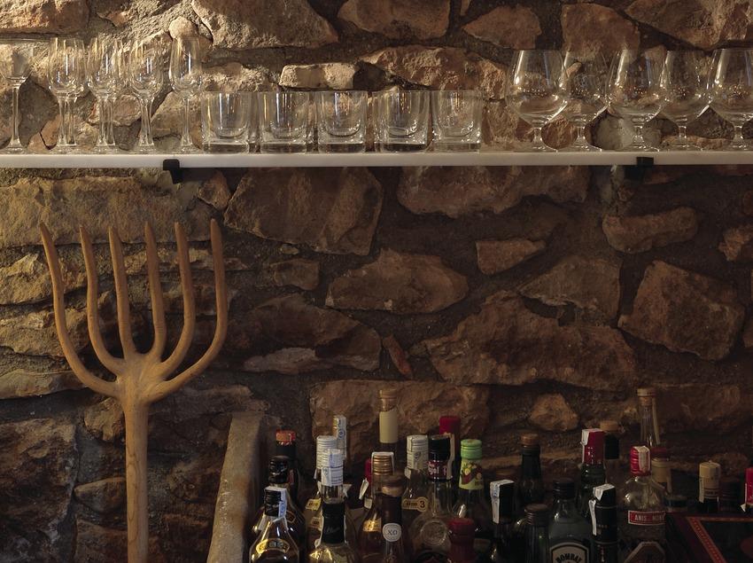 Rincón del bar en el Catacurian  (Tina Bagué)