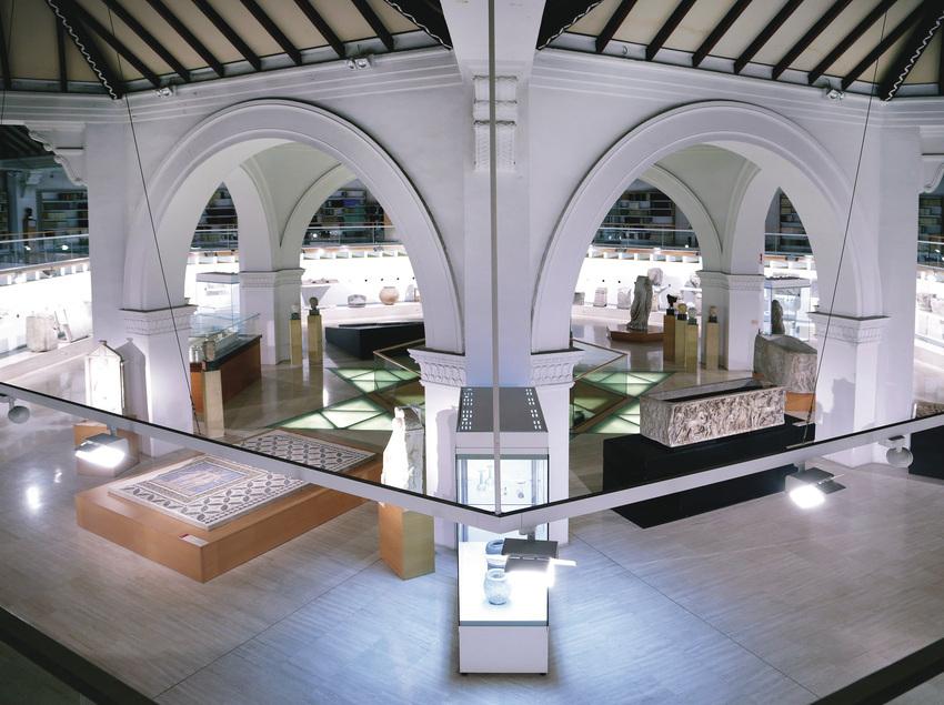 Acte privat al Museu d'arqueologia de Catalunya. (Jordi Play)