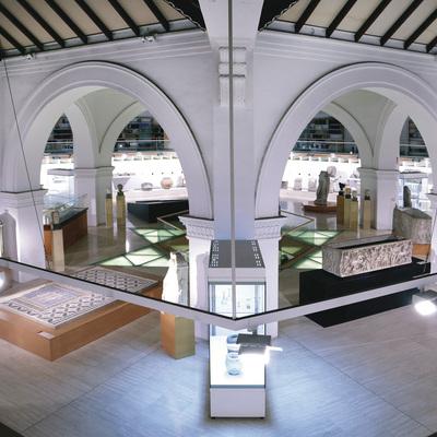 Acto privado en el Museo de arqueología de Cataluña. (Jordi Play)