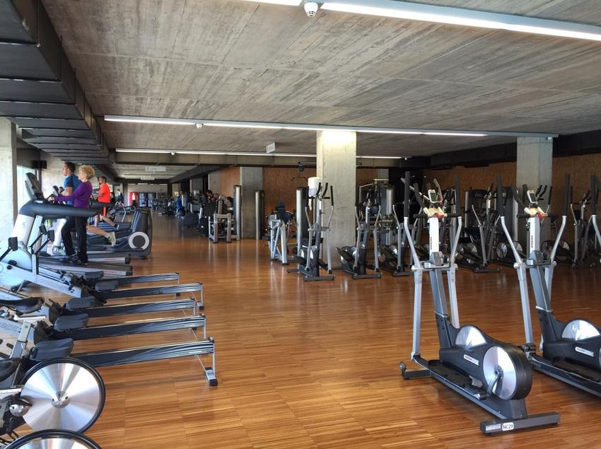 Sala de fitness. (Club Natació Sabadell)