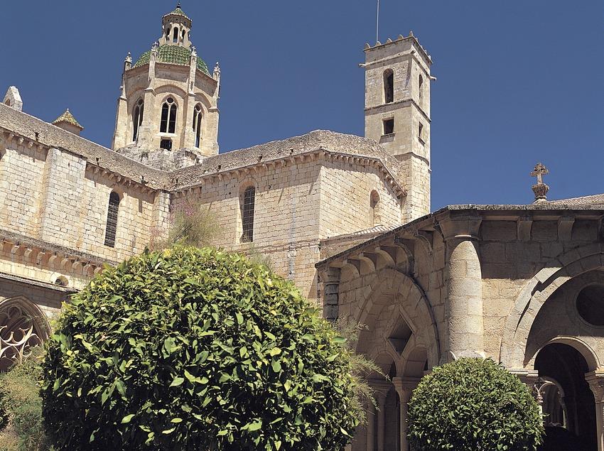 Claustre gòtic del monestir cistercenc de Santes Creus